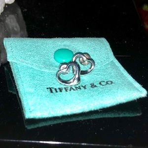Authentic Tiffany&Co Open Heart Earrings